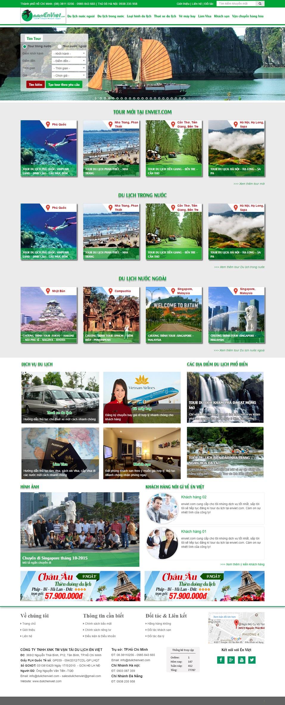 Du lịch Én Việt