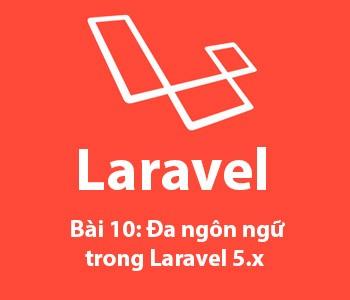 Bài 10: Đa ngôn ngữ (localization) trong Laravel 5.x