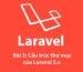 Bài 3: Cấu trúc thư mục của Laravel framework 5.x