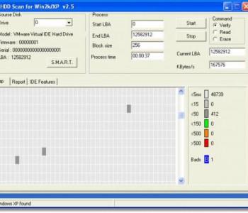 Kiểm tra ổ cứng bị bad hiệu quả và đơn giản nhất