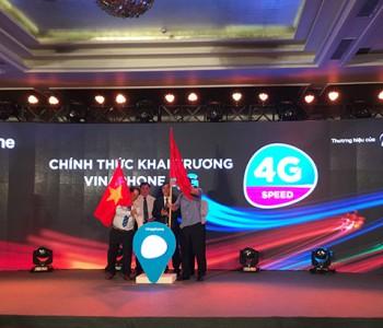 VinaPhone: Nhà mạng đầu tiên cung cấp 4G tại Việt Nam