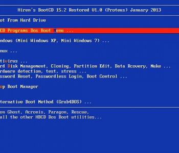 Tạo USB boot Hiren's Boot ghost Windows 7, 8.1, 10 bằng Rufus
